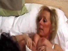 Mature British Nurse Creampied by Patient