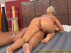 Tonyas Nuru Massage Surprise for Neeo
