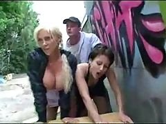 Sharing their Wife and Fucking In Public Places F70