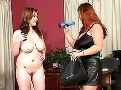 Two plumpers with big tits