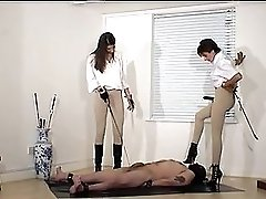 Two Mistresses And Their Slave