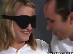 Blindfolded Before The Gangbang