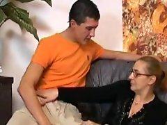 Giving Horny Mama A Fuck And Facial !