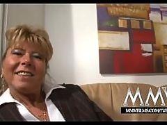 MMV Films Blonde Busty German Mature