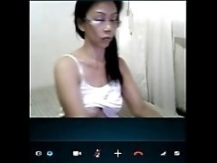 Philipina Girl On Skype