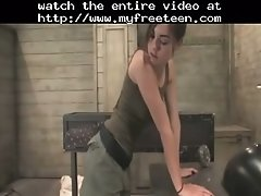 Sasha and the robospanker teen amateur teen cumshots sw