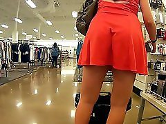 Sundress Wedgie Seducing Upskirt Playtime