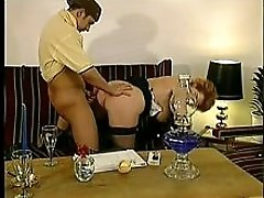 Loud Moaning German Mature Fucked
