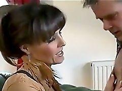 Gorgeous UK Mistress uses a sub