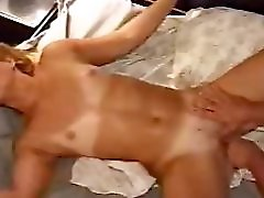 Amateur MILF Banged Hard In Bedroom