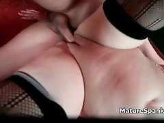 Big beautiful woman loves to suck young cocks she also