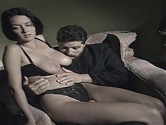 Vintage intercrural sex highcut panty