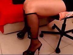 Panties Heels & Feet Tease