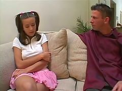 Stranded Schoolgirl AssFuck Kelly Kline