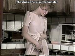 Ginger Lynn Allen Tiffany Blake Tom Byron in classic porn