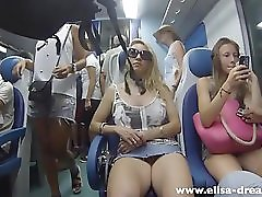 Flashing My Pussy In Public In Italy