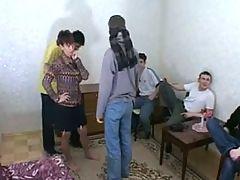 Klavdia Russian Mom & 5 Young Boys
