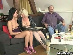 She likes sex with his parents