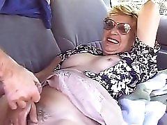 Granny In Car