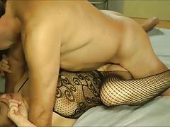 Cuckolding Cougar Wife Enjoys A Threesome