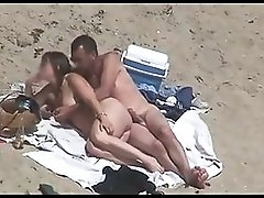 Nude Beach Couples Caught on Camera voyeurs & helpers