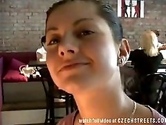 Czech Streets Amazing Sex In Pub Toilets