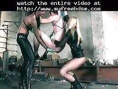 Strapon fuck bdsm bondage slave femdom domination