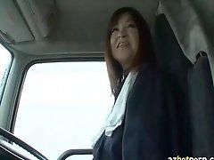 Azhotporn Com Rambling Around Asian Trucker Milf