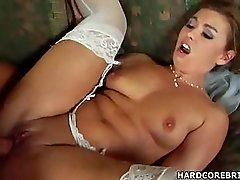 Pretty Bride Is Fucked By This Horny Dude