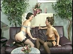French Lesbians Only Do Anal