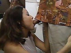 TATIANA GREAT BATHROOM SEX