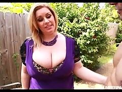 Sexy Plump MILF Tiffany Blake Fucks Dark Pool Boy