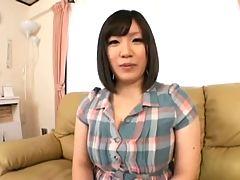 Busty asian Shinobu Mitsuki