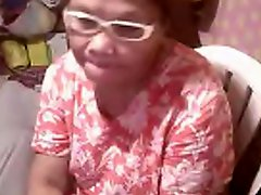 Asian granny Elizabeth 57 yr flashing 6 March 2014