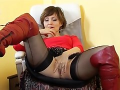 Kirsty Blue at her desk