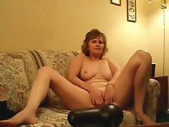 Stolen Video Of My Horny Mum Fingering