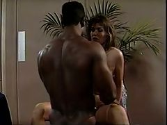 Black friend's giving a white woman the feel of a black cock