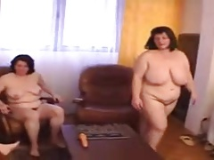 2 Shubby And Hairy Mature Lesbians With A Young Teen
