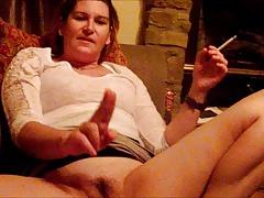 My milf wife talking dirty masturbating sucking dick!