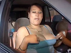 Hot Latina Girls Show Their Tits In Public