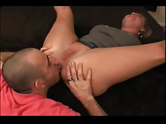 Horny MILF loves to gets her ass licked