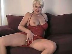 Dana Hayes Solo On Couch