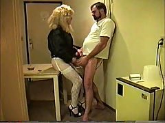Tranny with Great Ass gives and gets Head