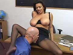 Teacher fucked in pantyhose www Fap69 com