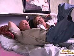 Mature couple fuck like jackrabbits on a rainy day