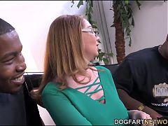 Milf Babe Kiki Daire Gets Interviewed At Dogfart