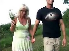Mature woman and guy 20
