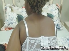 Amateur Busty Ebony Milf Is Looking For Some Big Cock On Cam!