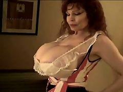 Teddi Barret huge fake tits sucked&fucked