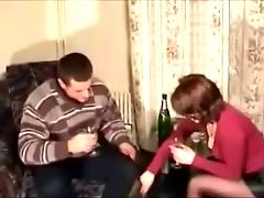 Russian amateurs adultery with a stranger